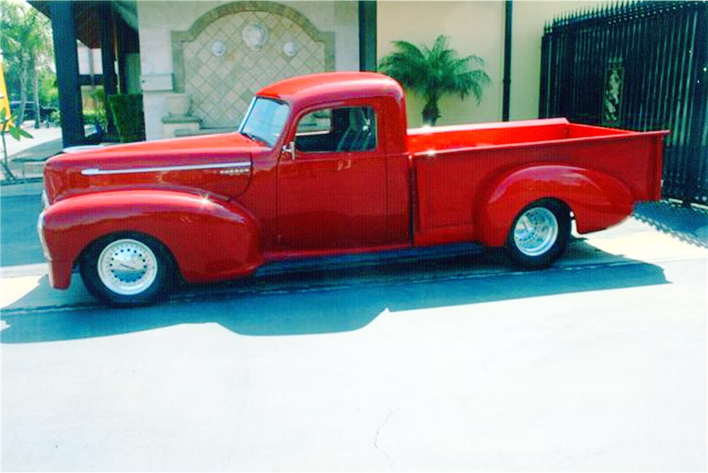 1947 HUDSON CUSTOM PICKUP - Side Profile - 91006