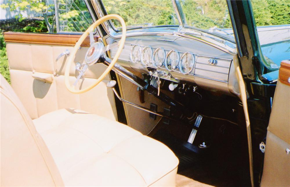 1938 PACKARD VICTORIA CONVERTIBLE - Interior - 91009