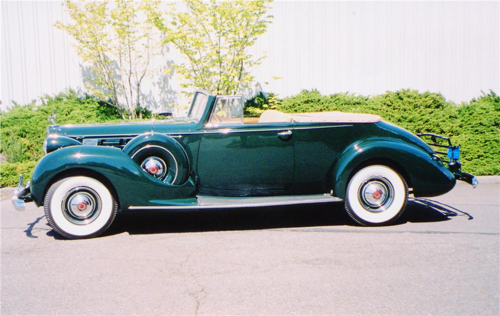 1938 PACKARD VICTORIA CONVERTIBLE - Side Profile - 91009