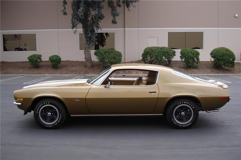 1970 CHEVROLET CAMARO Z/28 COUPE - Side Profile - 91014