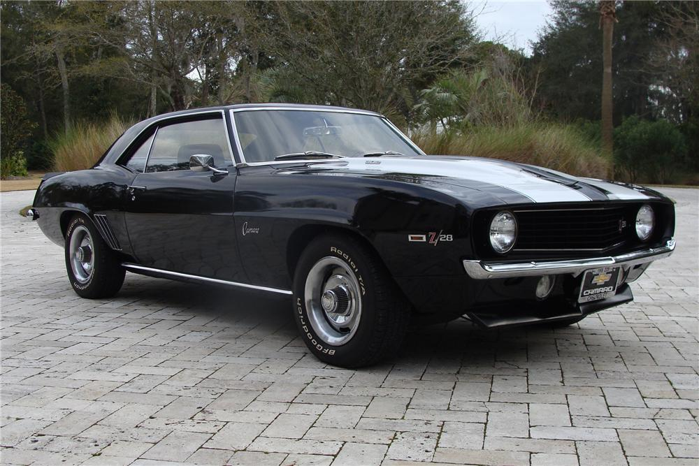 1969 CHEVROLET CAMARO Z/28 COUPE - Front 3/4 - 91019
