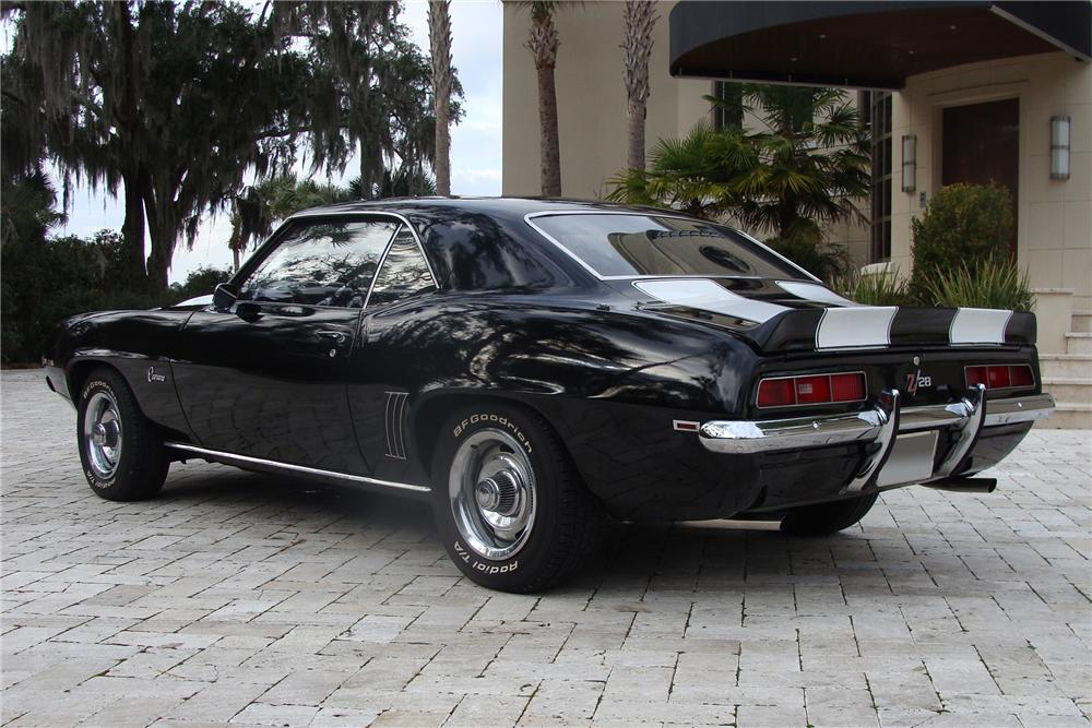 1969 CHEVROLET CAMARO Z/28 COUPE - Rear 3/4 - 91019