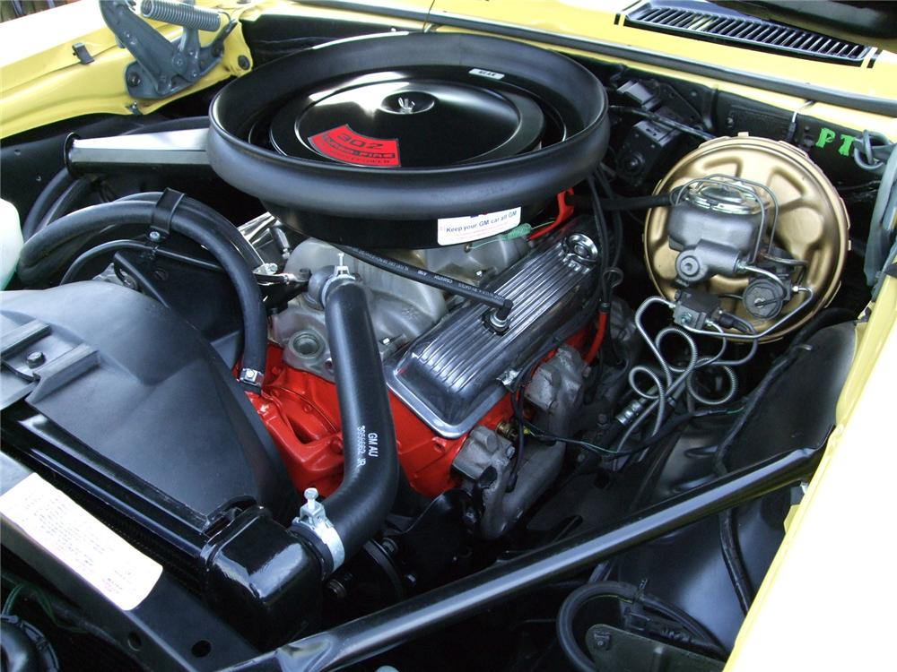 1969 CHEVROLET CAMARO Z/28 RS 2 DOOR COUPE - Engine - 91022
