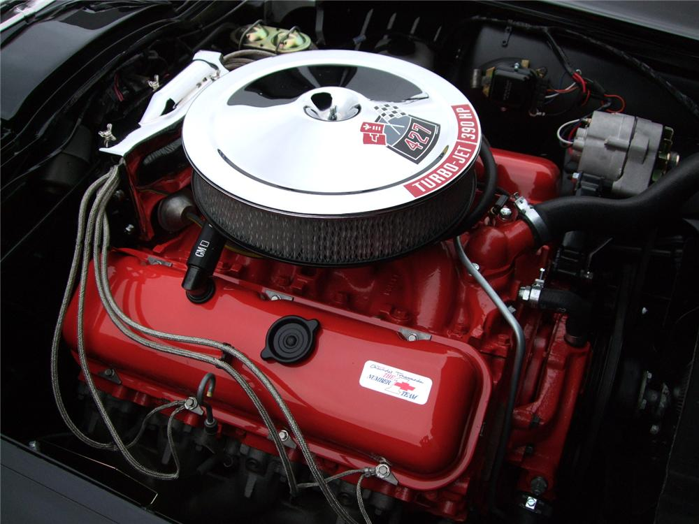 1967 CHEVROLET CORVETTE 2 DOOR COUPE - Engine - 91023