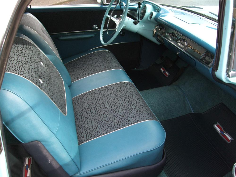 1957 CHEVROLET NOMAD CUSTOM STATION WAGON - Interior - 91024
