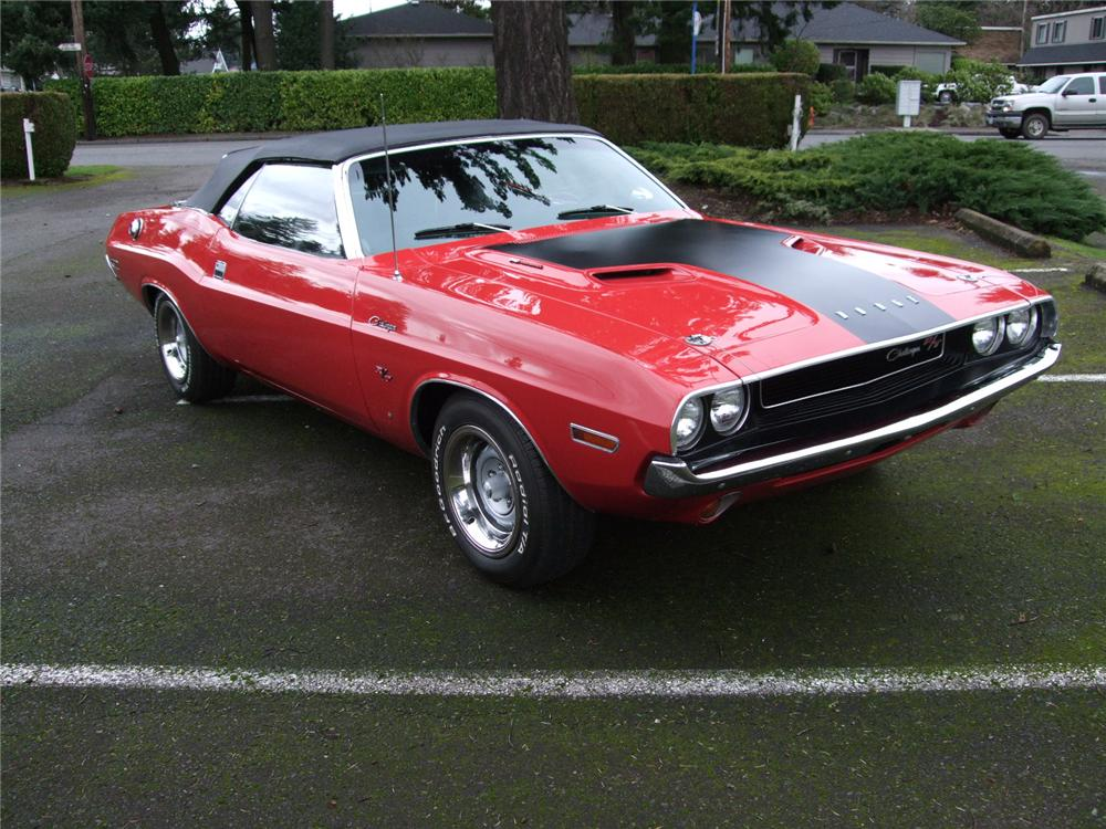 1970 dodge challenger 2 door convertible 91025. Black Bedroom Furniture Sets. Home Design Ideas