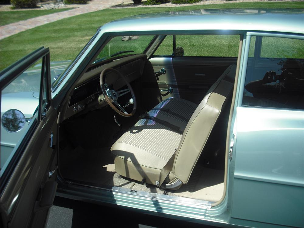 1966 CHEVROLET NOVA 2 DOOR CUSTOM COUPE - Interior - 91034