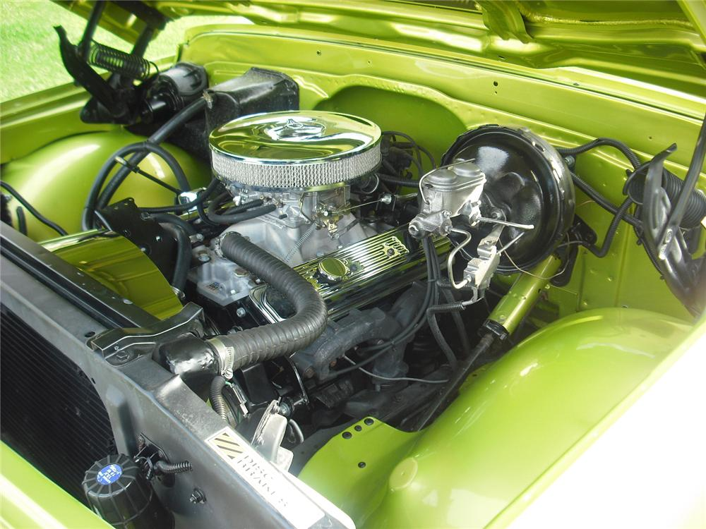 1968 CHEVROLET C-10 CUSTOM PICKUP - Engine - 91037