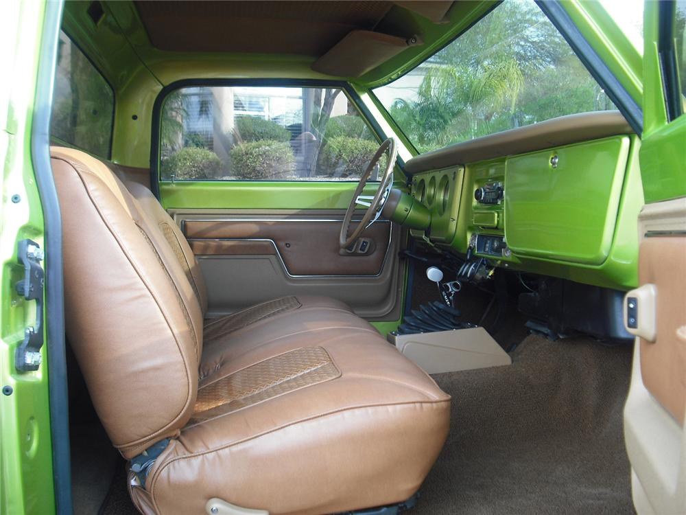 1968 CHEVROLET C-10 CUSTOM PICKUP - Interior - 91037