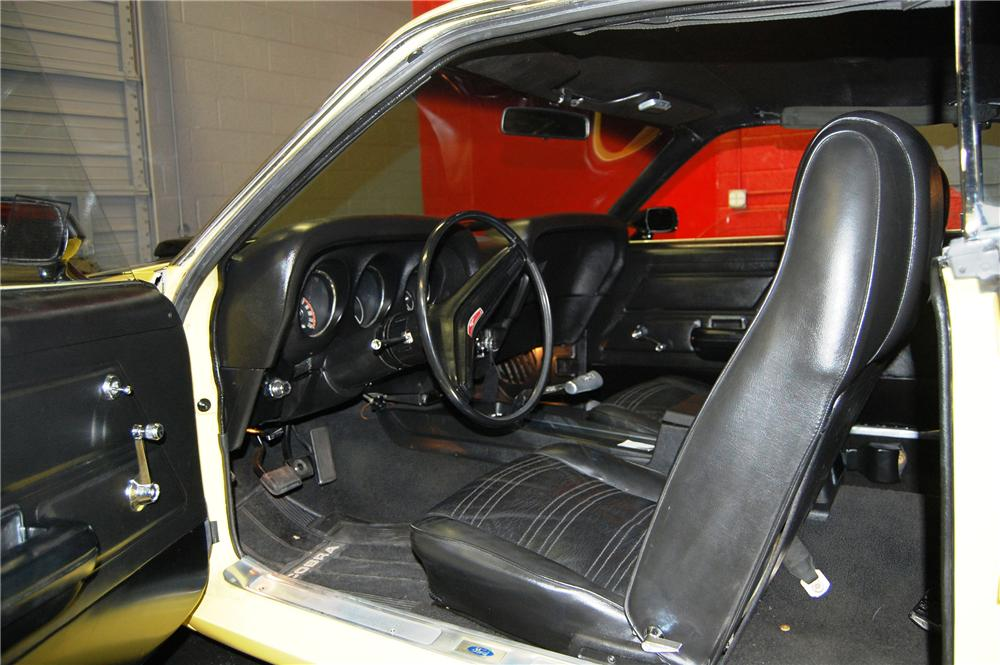 1970 FORD MUSTANG BOSS 302 CUSTOM FASTBACK - Interior - 91042