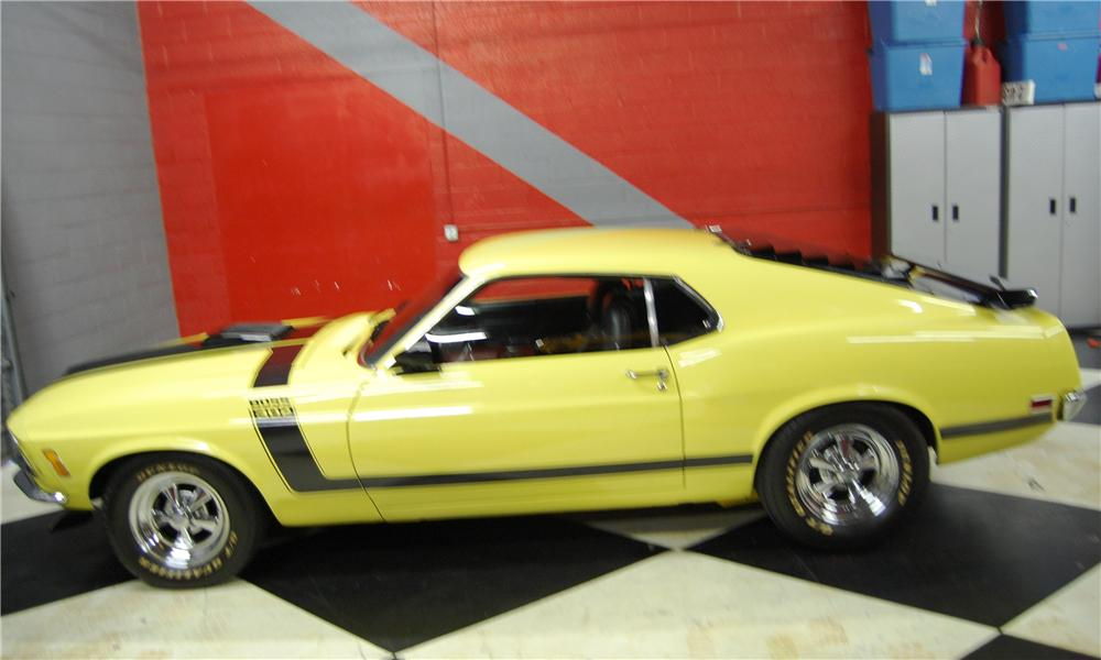 1970 FORD MUSTANG BOSS 302 CUSTOM FASTBACK - Side Profile - 91042