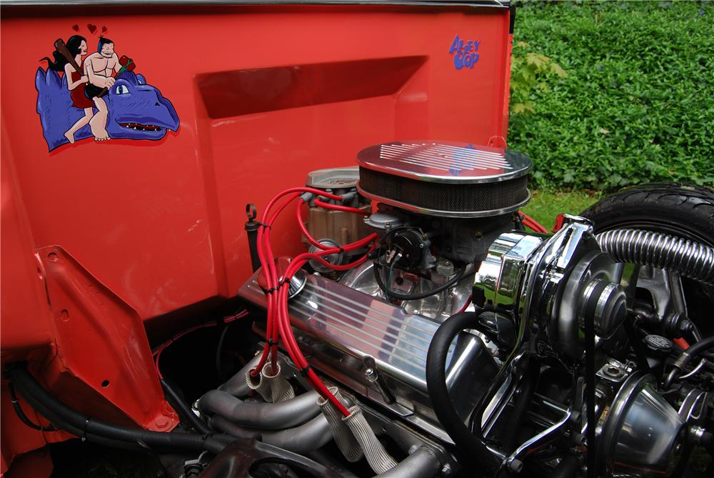 1950 FORD CUSTOM PICKUP - Engine - 91048