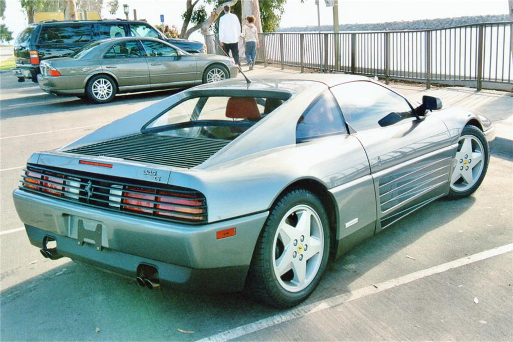 1990 FERRARI 348 GTS 2 DOOR - Rear 3/4 - 91051