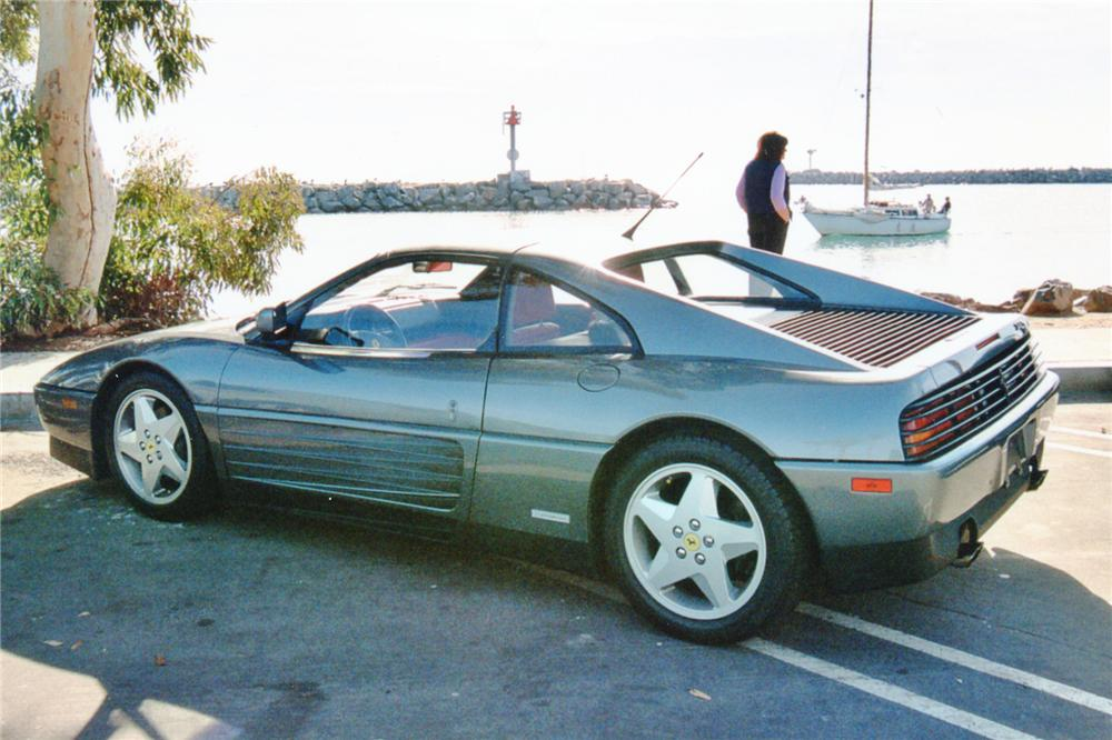 1990 FERRARI 348 GTS 2 DOOR - Side Profile - 91051