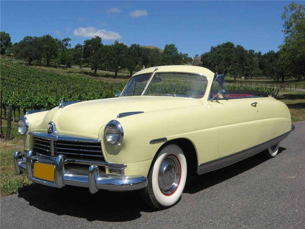 1948 HUDSON COMMODORE 8 CONVERTIBLE - Front 3/4 - 91052
