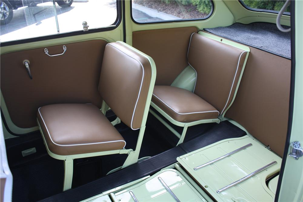 1959 FIAT MULTIPLA MODEL 600 VAN MICRO CAR - Interior - 91057