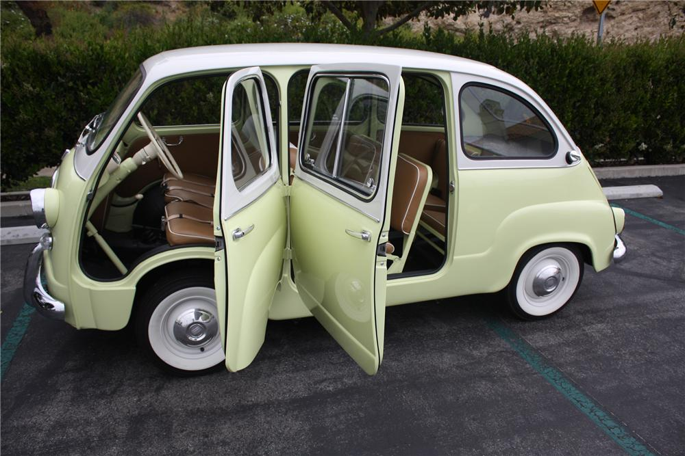 1959 FIAT MULTIPLA MODEL 600 VAN MICRO CAR - Side Profile - 91057