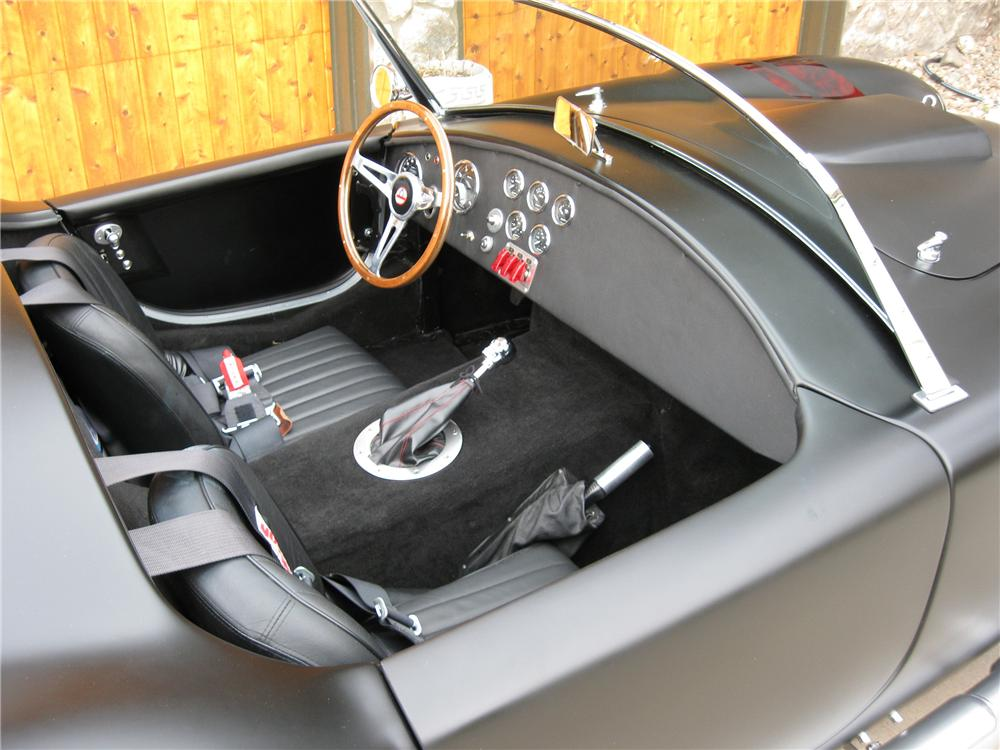 1965 FACTORY FIVE SHELBY COBRA RE-CREATION ROADSTER - Interior - 91059