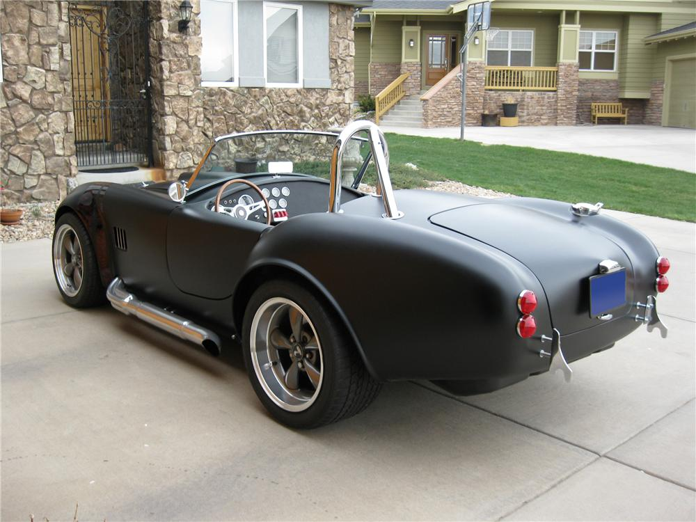 1965 FACTORY FIVE SHELBY COBRA RE-CREATION ROADSTER - Rear 3/4 - 91059