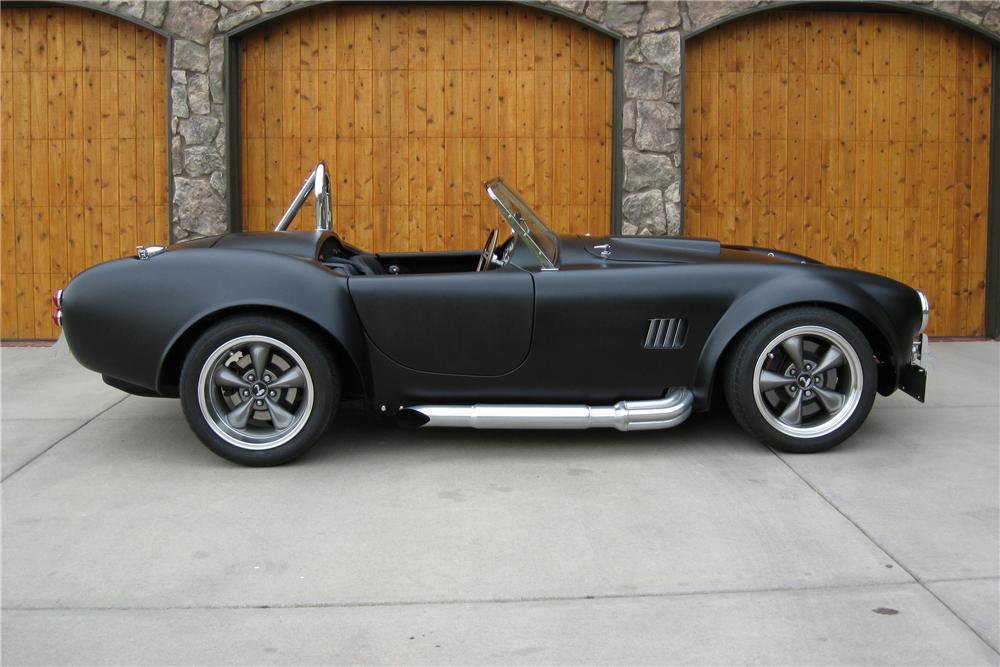 1965 FACTORY FIVE SHELBY COBRA RE-CREATION ROADSTER - Side Profile - 91059