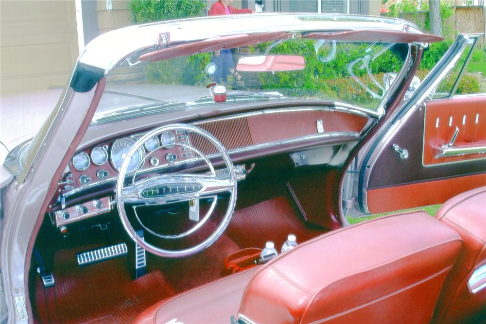 1964 CHRYSLER NEWPORT CUSTOM CONVERTIBLE - Interior - 91060
