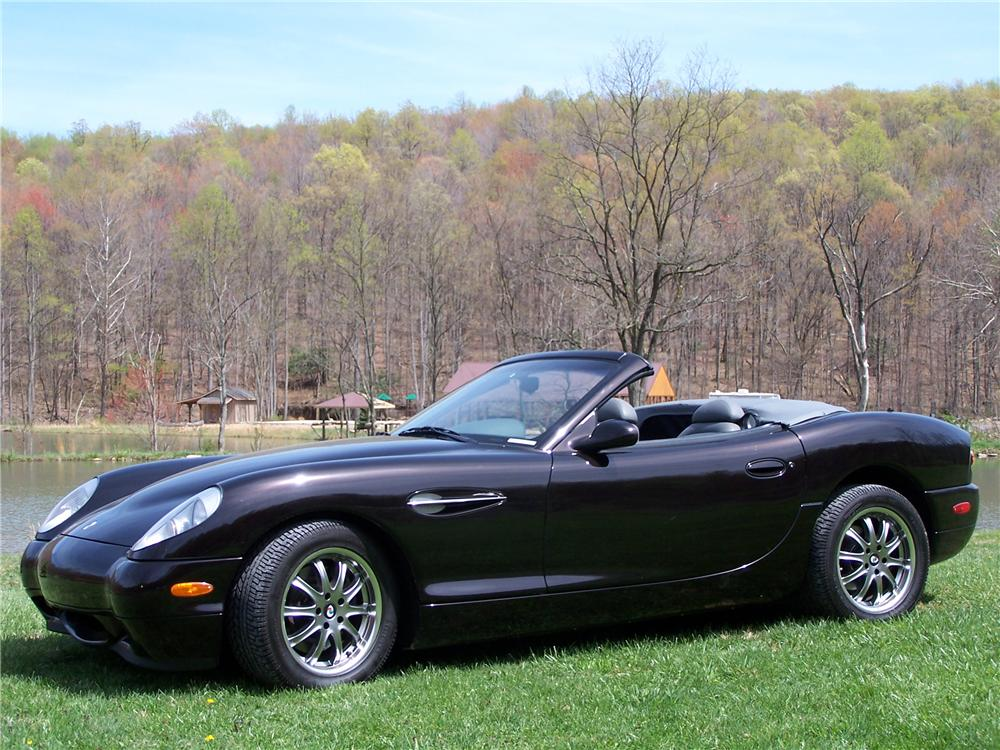 2002 PANOZ ESPERANTE 2 DOOR CONVERTIBLE - Side Profile - 91065