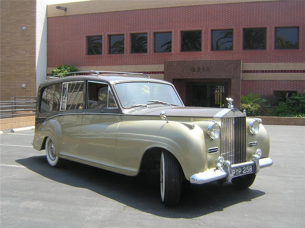 1955 ROLLS-ROYCE SILVER WRAITH ESTATE WAGON - Side Profile - 91069