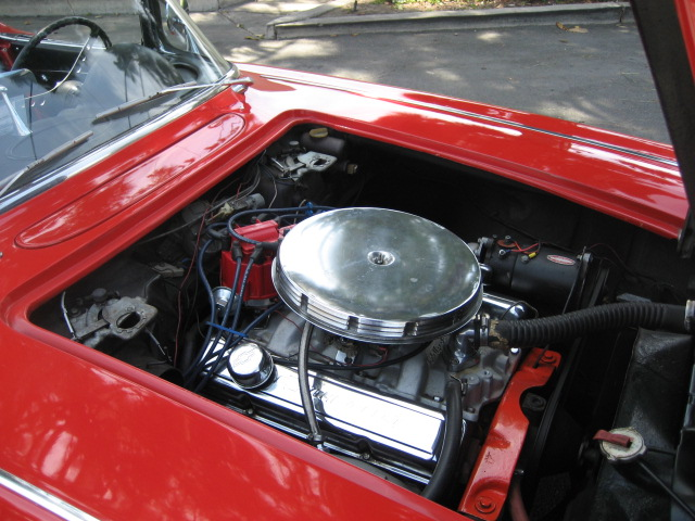 1962 CHEVROLET CORVETTE CONVERTIBLE - Engine - 91070