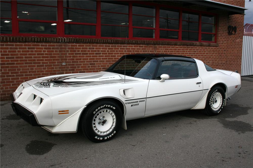 1981 PONTIAC FIREBIRD TRANS AM COUPE - Side Profile - 91079