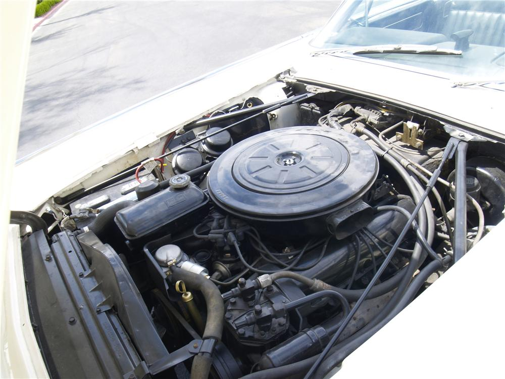 1962 LINCOLN CONTINENTAL CONVERTIBLE - Engine - 91080