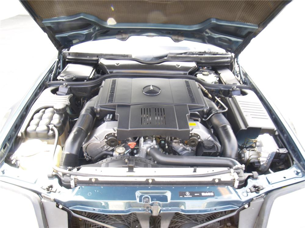 1998 MERCEDES-BENZ 500SL ROADSTER - Engine - 91085