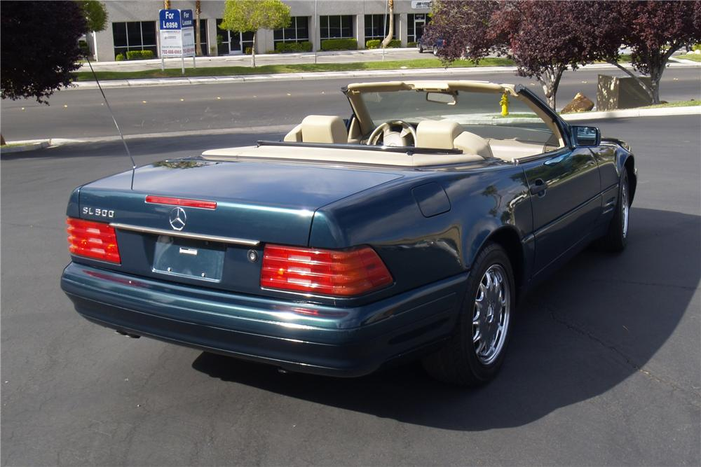1998 MERCEDES-BENZ 500SL ROADSTER - Rear 3/4 - 91085