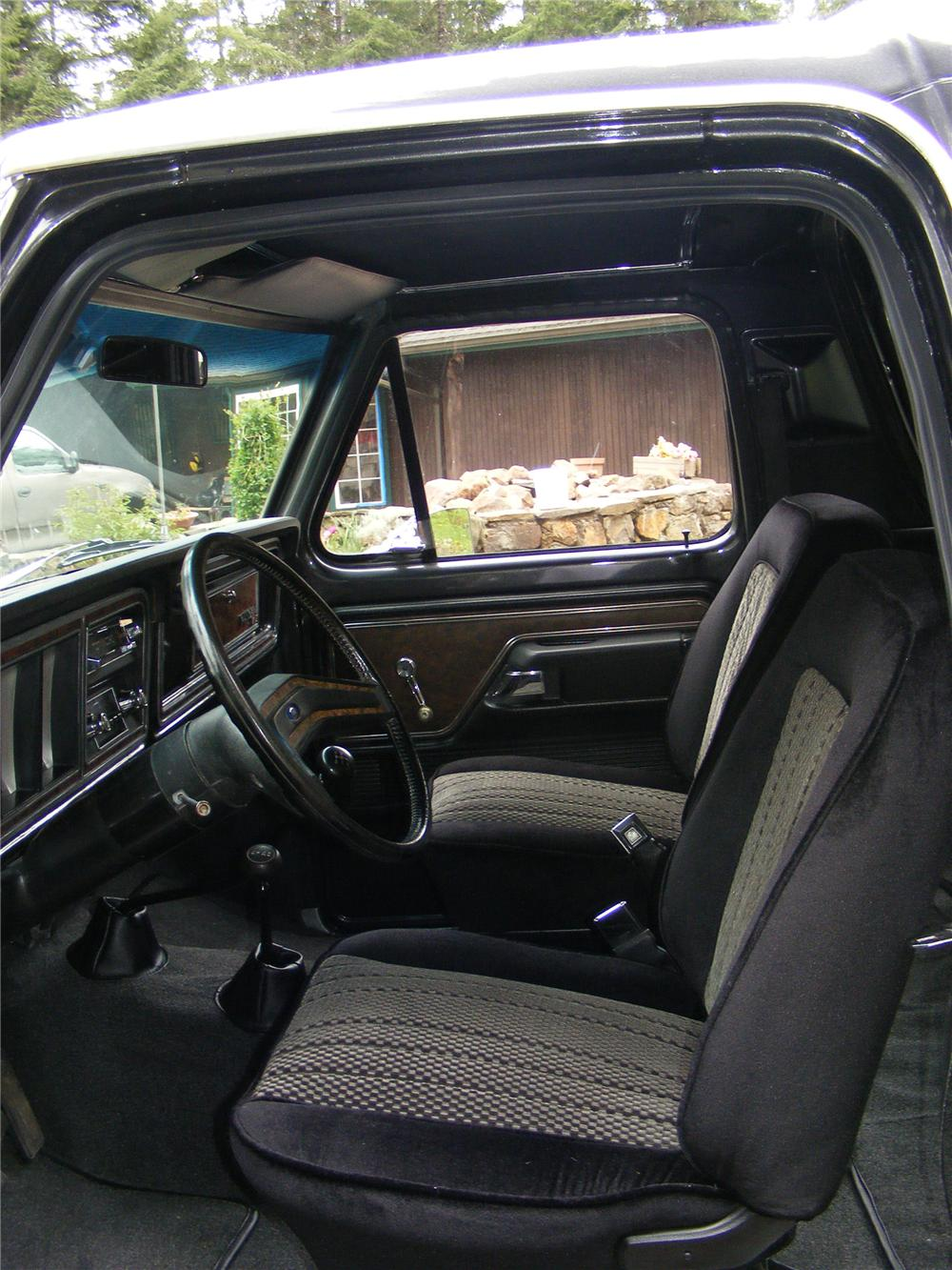 1979 FORD BRONCO RANGER XLT - Interior - 91087
