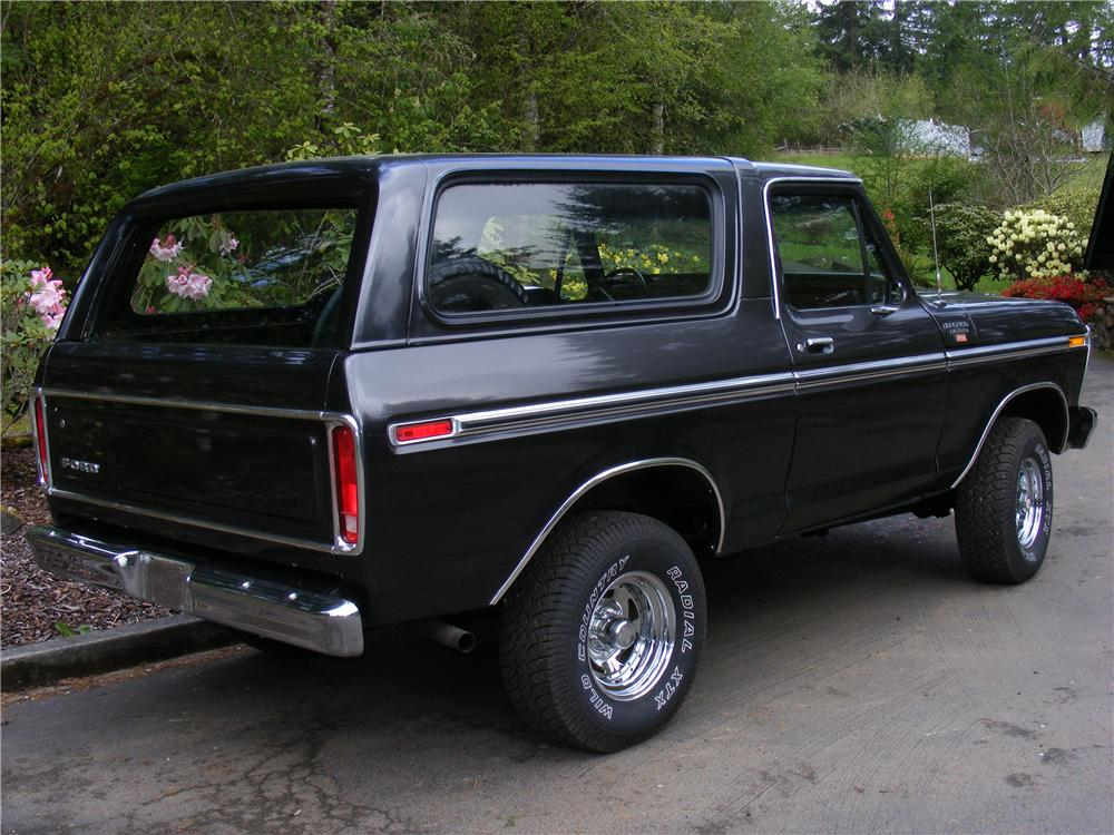 1979 FORD BRONCO RANGER XLT - Rear 3/4 - 91087