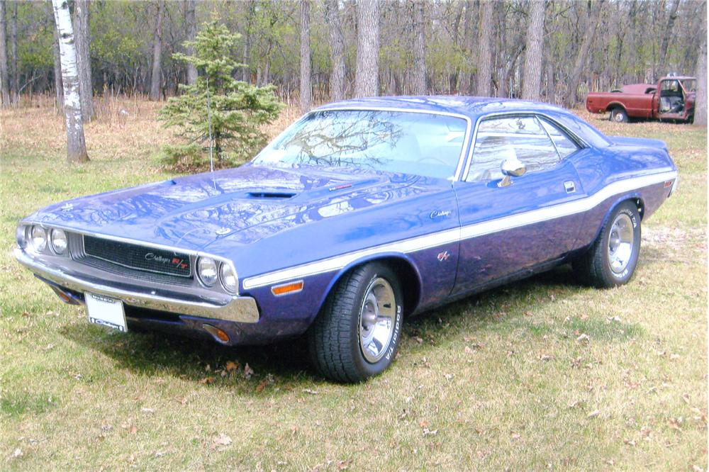 1970 DODGE CHALLENGER CUSTOM 2 DOOR - Front 3/4 - 91097