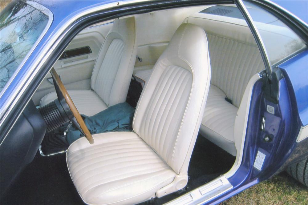 1970 DODGE CHALLENGER CUSTOM 2 DOOR - Interior - 91097