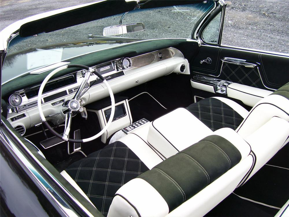 1962 CADILLAC SERIES 62 CUSTOM CONVERTIBLE - Interior - 91102