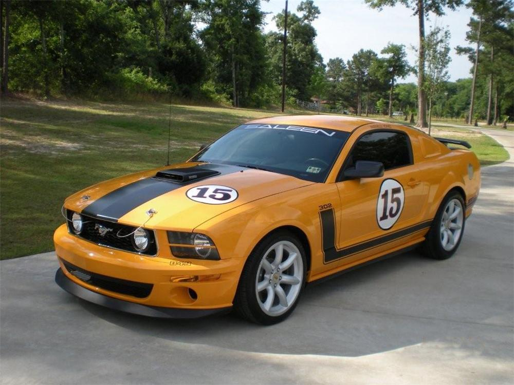 2007 FORD MUSTANG SALEEN PARNELLI JONES LIMITED EDITION - Front 3/4 - 91105