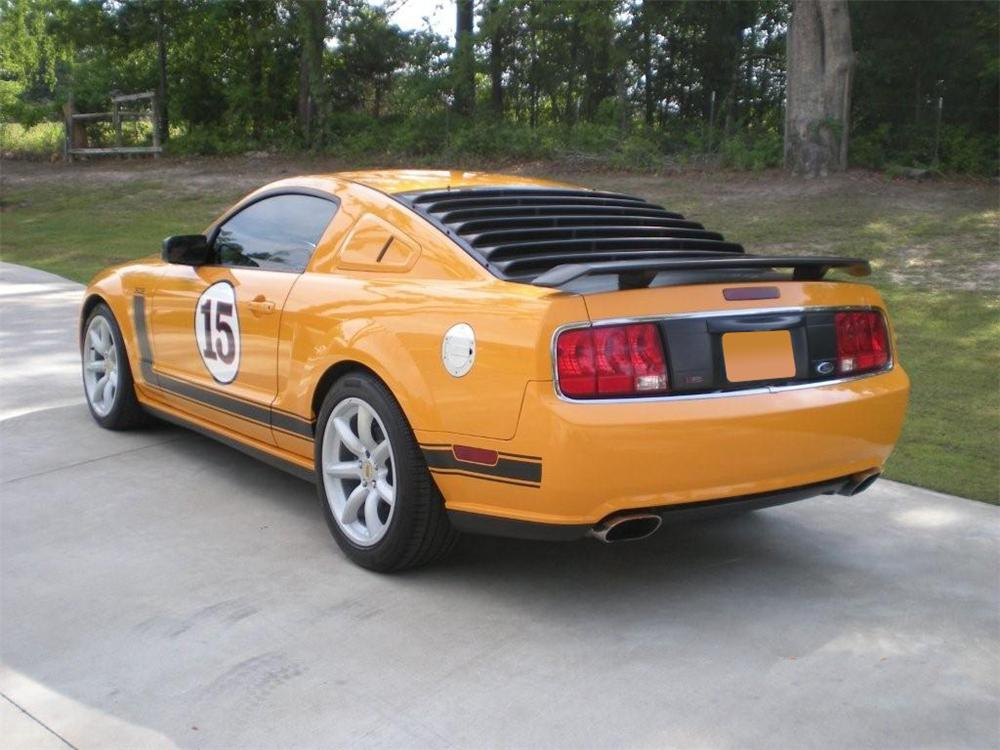 2007 FORD MUSTANG SALEEN PARNELLI JONES LIMITED EDITION - Rear 3/4 - 91105