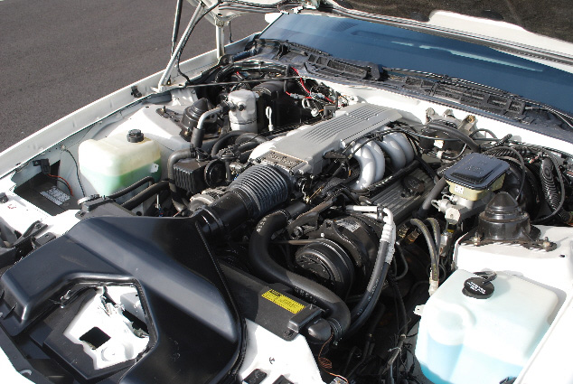 1987 CHEVROLET CAMARO Z/28 CUSTOM COUPE - Engine - 91111