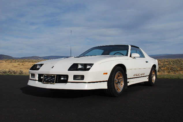 1987 CHEVROLET CAMARO Z/28 CUSTOM COUPE - Front 3/4 - 91111