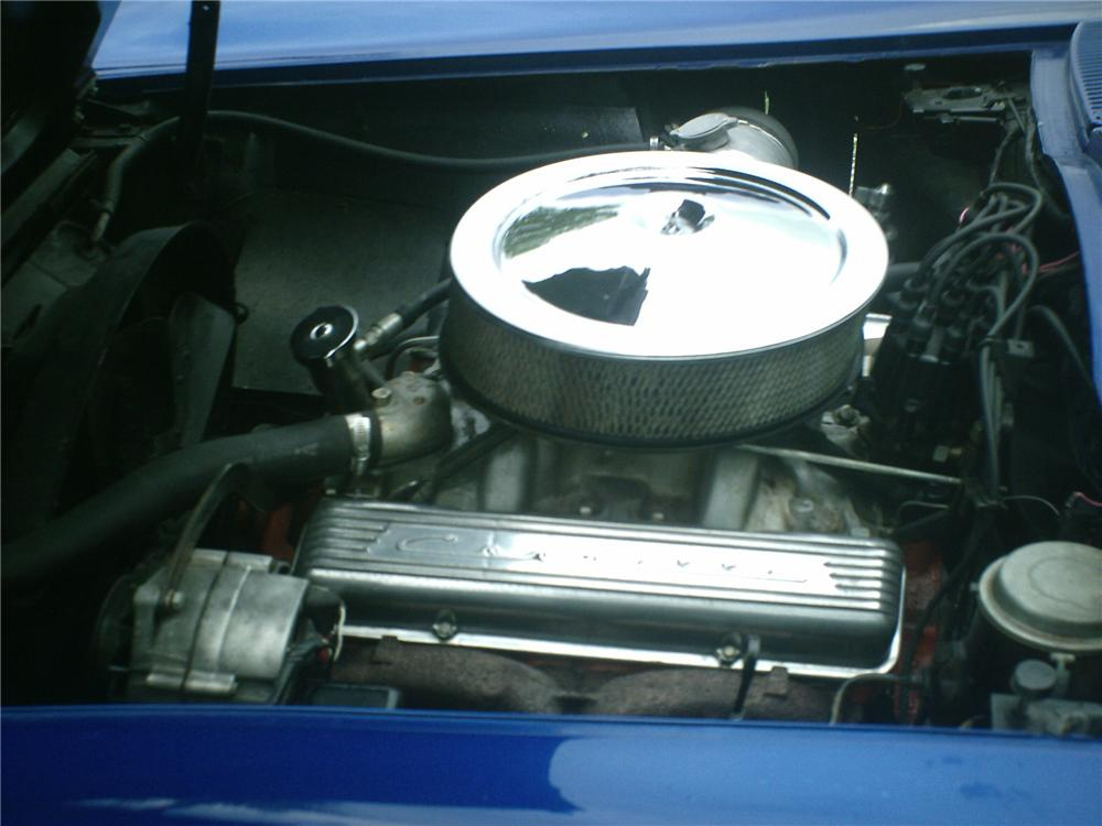 1966 CHEVROLET CORVETTE CONVERTIBLE - Engine - 91123