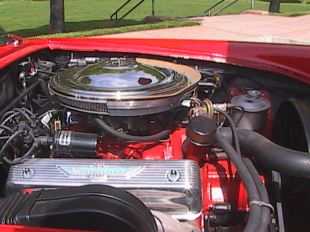 1957 FORD THUNDERBIRD CONVERTIBLE - Engine - 91127