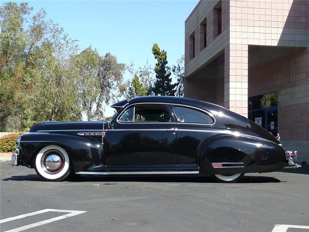 1941 BUICK SEDANETTE - Side Profile - 91130