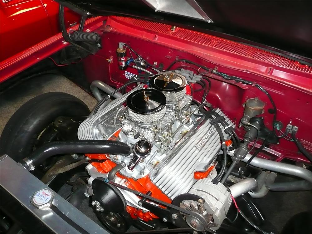 1962 CHEVROLET IMPALA CUSTOM DRAG CAR - Engine - 91132