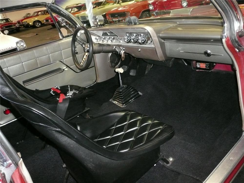 1962 CHEVROLET IMPALA CUSTOM DRAG CAR - Interior - 91132