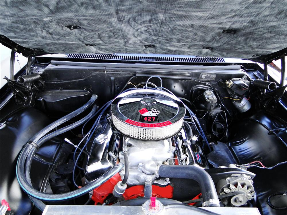 1967 CHEVROLET IMPALA SS 2 DOOR HARDTOP - Engine - 91133