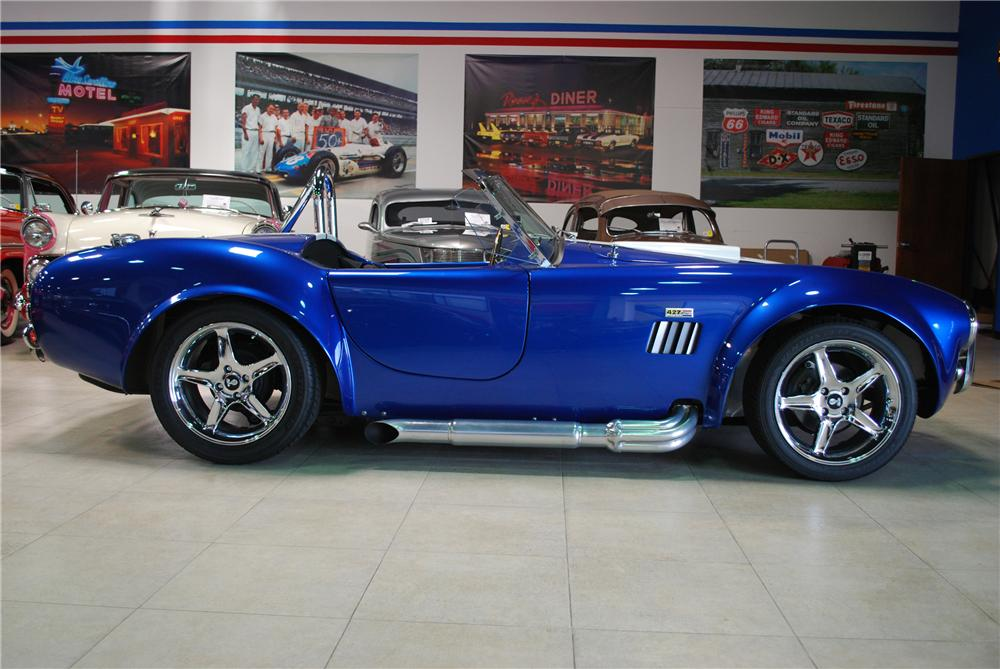 2004 FACTORY FIVE COBRA RE-CREATION ROADSTER - Side Profile - 91138