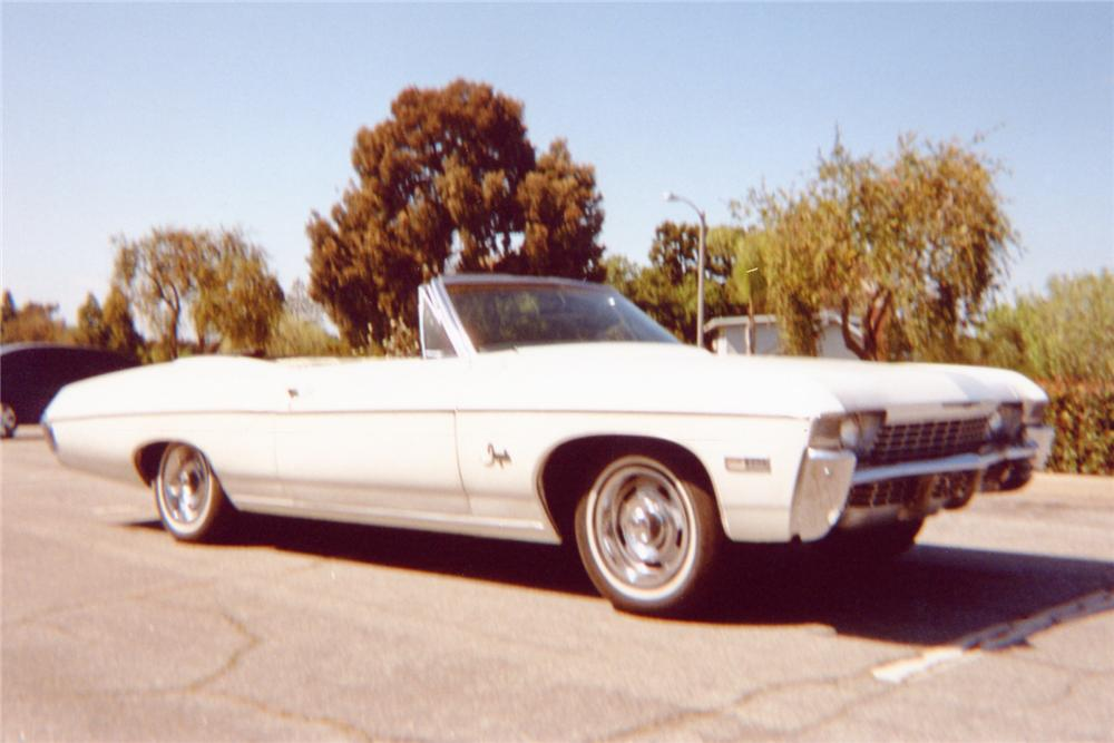 1968 CHEVROLET IMPALA CONVERTIBLE - Front 3/4 - 91147