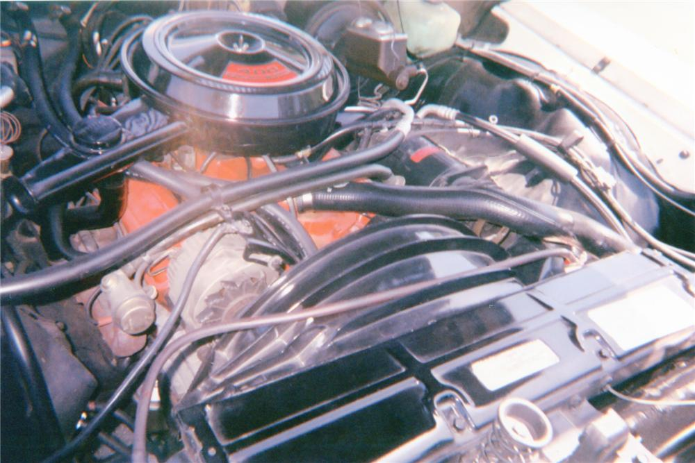1972 CHEVROLET IMPALA CONVERTIBLE - Engine - 91148